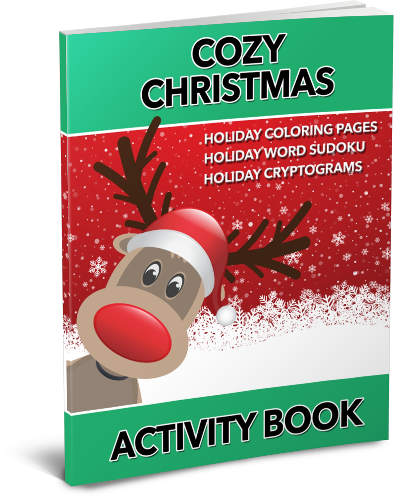 Cozy Christmas Activity Book